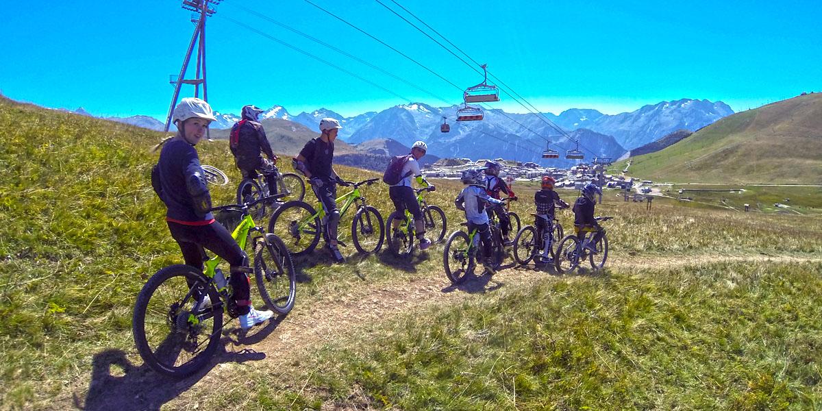 Bike Aprem vue du ciel